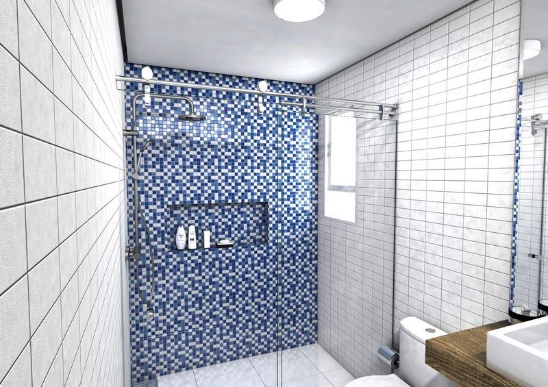 instalação de box de banheiro